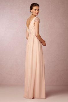 Jenny Yoo blush Evangeline Dress | BHLDN