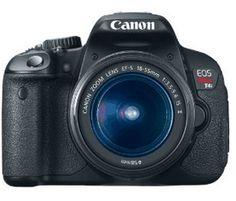 *HOT* Canon Rebel T4i Bundle + Cash Back Bonus!