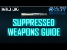Welcome back to another tips video! Today we're taking a look at suppressors, the mechanics behind how they work, their benefits, their penalties and some of. Battlefield 3 Gameplay, All Video, Weapons, Facebook, Twitter, Tips, Weapons Guns, Guns, Weapon