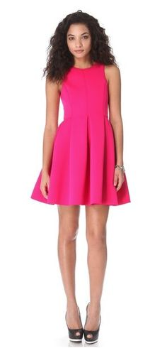 REVEL: Shocking Pink Party Dress - For ME to wear!