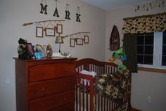 Future Fisherman Nursery Theme - Baby Boy's Hunting and Fishing Nursery Theme: I got my inspiration for my baby boy's fishing nursery theme from mine and my husband's love of the outdoors.  We both love to hunt and fish and so do