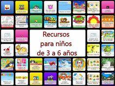 RECURSOS PARA 3 A 6 AÑOS Apps, Online Logo, English Activities, Speech Therapy, Homeschool, Education, Learning, Blog, Social Skills