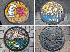 The Art of Japanese Manhole Covers - The Chromologist