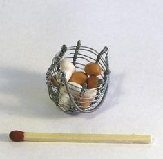 Barbie doll egg basket