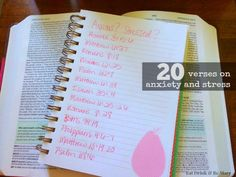 Eat Drink & Be Mary: Let Go & Let God: 20 Verses on Anxiety and Stress