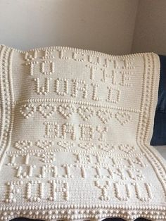 Ravelry: Welcome to the World Crib Size pattern by Nancy Liggins