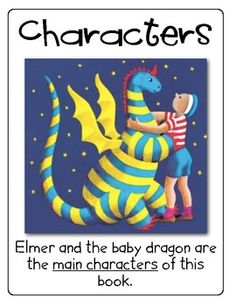 Story Elements for My Father's Dragon Freebie