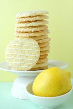 lemon cookie biscoito bolacha Mais