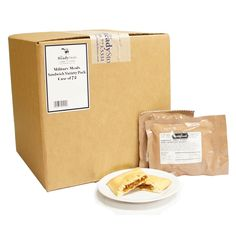 Military Meals Sandwich Variety Pack - CASE of 72