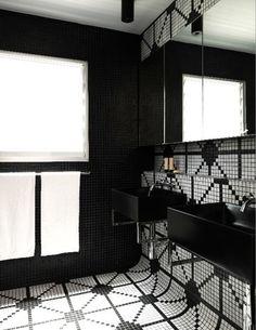 Éclectique Salle de Bain by Scott Weston Architecture Design PL