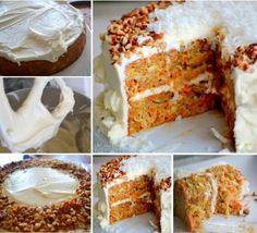 Perfect Carrot Cake Recipe cake dessert recipe thanksgiving recipes thanksgiving recipes dessert recipes