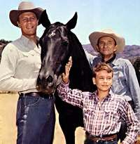 Fury - Peter Graves found greater fame as Jim Phelps in Mission Impossible. His brother James Arness is even more famous as the steady handed sheriff, Matt Dillon from Gunsmoke.