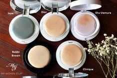 cushion foundation roundup comparisons: Iope, Dior, Clinique, Bobbi Brown, Shu Uemura
