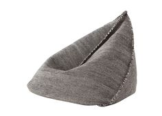 When you think of bean bag furniture, don't you think of dorm rooms and first apartments? These Wool Bean Bag pieces (Sail by Gan) will change those Black Bean Bags, Bean Bag Furniture, Mod Furniture, Cottage Furniture, Furniture Logo, Office Furniture, Outdoor Furniture, Contemporary Living Room Furniture, Square Pouf