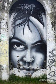 Graffiti Art Curitiba Brazil 2 Photograph