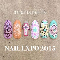 """""""NAIL EXPO 2015 ブラシセットをご購入頂いた方、先着20名様限定で1本アートプレゼント(自爪の方に限ります) アートサンプル⑵ . -@mananails Time schedule- 15日 10:20〜12:00 12:40〜14:00 14:15〜14:45 スペシャルステージ 15:00〜16:40 17:00〜19:00 . 16日 10:20〜12:00 12:40〜14:30 14:45〜15:15 スペシャルステージ 15:30〜16:30 16:45〜18:30 ステージ以外のお時間はmananailsブースでのアートプレゼントtimeモニターでの実演あり"""" Photo taken by @mananails on Instagram, pinned via the InstaPin iOS App! http://www.instapinapp.com (11/13/2015)"""