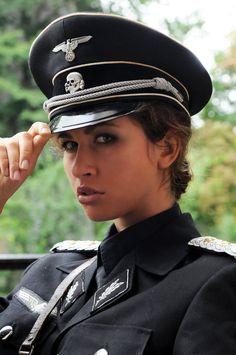 Uniform girls Nazi fetish