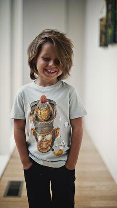 Noah Wayne Oakley's hair cut! Little boy with long hair. Shaggy hair for boys.
