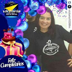 Gracias a @victoria1039fm y a mis #contertulios ...   #Repost @victoria1039fm with @repostapp ・・・ Hoy de #cumpleaños nuestra compañera de @LaTertuliaFM Andrea Rocha (@andrearochap). Felicidades en este día especial.