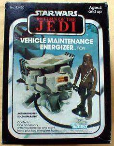 I don't care what anyone says, there isn't a person alive who can explain what the Vehicle Maintenance Energizer was supposed to do. Star Wars Set, Star Wars Ships, Star Wars Toys, Jouet Star Wars, Figuras Star Wars, Star Wars Vehicles, Old School Toys, Star Wars Merchandise, Star Wars Action Figures