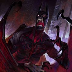 View an image titled 'Nightmare Batman Art' in our Infinite Crisis art gallery featuring official character designs, concept art, and promo pictures. Batman Arkham, Batman Comics, Batman Dark, Batman Vs, Batgirl, Catwoman, Comic Books Art, Comic Art, Gotham