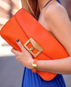 orange love - especially with blue