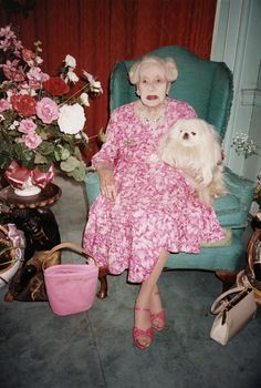Pick up Granny, her pink junk & yippy dog. Going crazy.