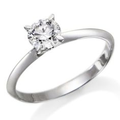 1/2 ct. Round Diamond Solitaire Engagement Ring in 14k White Gold ND Outlet - Engagement. $599.00. 100% natural diamonds. Conflict Free diamonds. 14k White gold