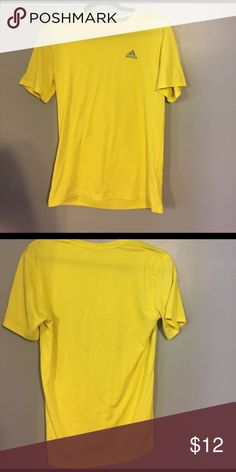 Adidas Climalite Workout Shirt Has been worn but good condition! Dry fit Adidas Shirts Tees - Short Sleeve