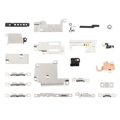 [USD6.60] [EUR5.95] [GBP4.71] iPartsBuy 21 in 1 Inner Repair Accessories Metal Part Set for iPhone 6s Plus