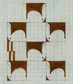 Rabbit Motif, Koloman Moser