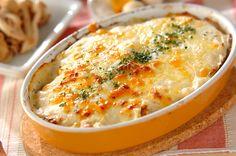 キャベツとひき肉のミルフィーユグラタンのレシピ・作り方 - 簡単プロの料理レシピ | E・レシピ