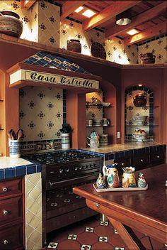 23 beautiful spanish style kitchens (design ideas) | spanish style