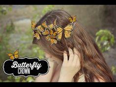DIY Butterfly Crown | ShowMeCute https://www.youtube.com/watch?v=LLOH8DFj7Ts