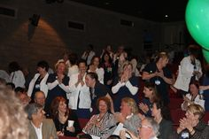 2014 Sarasota Memorial nursing staff hears the news via conference call - Magnet Certified for the third time in a row. Yay!