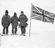 Jan. 15, 1909: Shackleton's Party Reaches the South Magnetic Pole  On this day in 1909, members of Ernest Shackleton's Nimrod Expedition party discovered the south magnetic pole. Shackleton, who had divided up the team, failed to reach the South Pole. Upon his return, Shackleton was still hailed as a hero for his grueling and groundbreaking expedition.