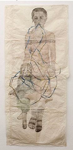 kiki smith, tethered