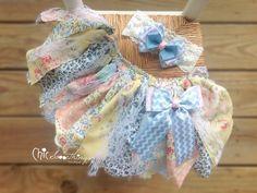 Fabric Tutu, BLUE TRUFFLE Vintage Tea Party Lace, Shabby Chic Tutu, Baby Tutu, Photo Prop Tutu, Childrens Toddler Infant Tutu, Birthday on Etsy, $32.00