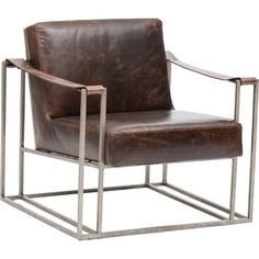 Dekker Leather Chair - Into The Woods - Living Room - Room Ideas