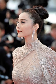 Fan Bingbing on the Red Carpet at Cannes. #Cannes2012 #Dress