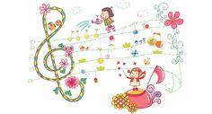 Music Lesson Plans, Music Lessons, Preschool Music Activities, Free Sheet Music, Music Songs, Fm Music, Kids Music, Snoopy, Clip Art