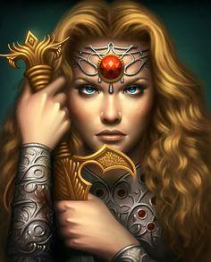 [Fantasy art] Kingdoms Fall by cgaddict at Epilogue