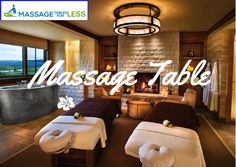 A massage therapy requires a soothing-calm ambiance which commonly includes a cushioned massage tables or a mat on the floor, a certified-experienced masseuse, essential massage oils, an aromatic room and slow music to enhance the effects of the therapy