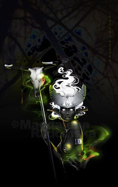 +Drow Priestess+ by Magrad.deviantart.com on @deviantART