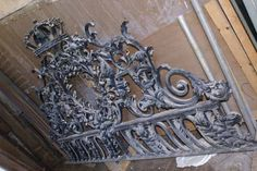 Wrought Iron overthrow in store