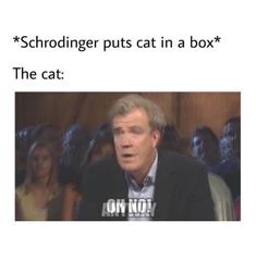 Schrodingers Cat, Cats, Physics Humor, Cat Memes, Cartoon, Funny, Fictional Characters, Gatos, Physics