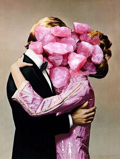 Exploding heads and candy bombers: vintage collages to blow your mind