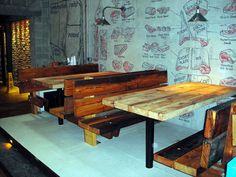 Pallet tables!
