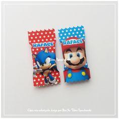 50 Balas Personalizadas Sonic Vs Mario