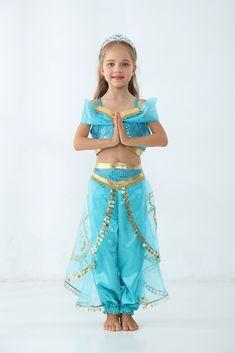 Jasmine dress,Disney Princess Costume, Aladdin's lamp dress,toddler princess dress,Disney Princess C Indian Princess Costume, Disney Princess Costumes, Disney Princess Dresses, Baby Girl Halloween, Halloween Costumes For Girls, Costumes For Women, Teen Costumes, Woman Costumes, Couple Costumes